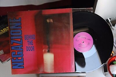 "Negazione - Behind The Door - Vinile - Lp - 33 Giri 12"" Ex Germania"