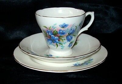 Royal Sutherland fine bone china Cup, Saucer & Side Plate