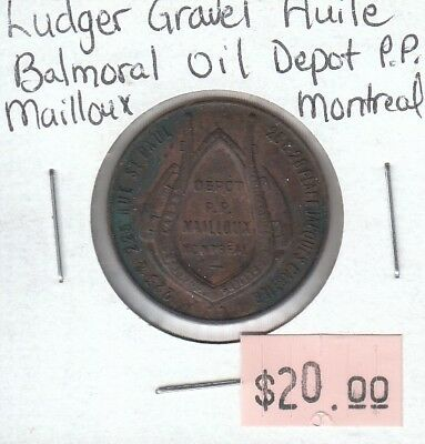 Ludger Gravel Huile - Balmoral Oil Depot P.P. - Mailloux Montreal