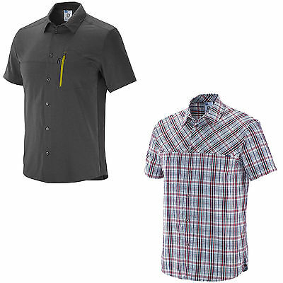 Salomon Radiant Plaid Stretch Shirt M Men's outdoorhemd Function wanderhem