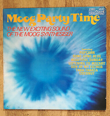 Moog Party Time - Vinyl Compilation Electronic Synth 2870 197 Contour