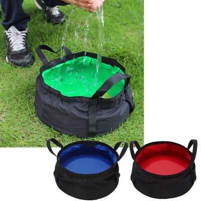 8.5L Ultra-Light Outdoor Folding Washbasin Pot Camping Basin Equipment Groovy
