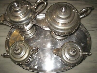 """royal Winson"" Tea And Coffee Set On A Stunning Tray"