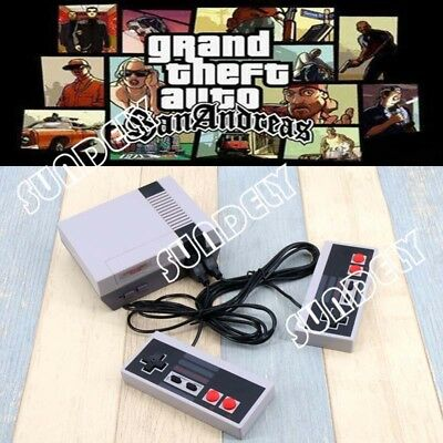 1x NES Classic Built-in 620Games Family Game Console With 2 Handheld Controllers