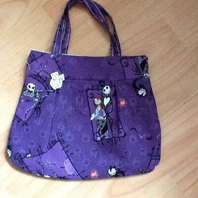 Handmade girls handbag nightmare before Christmas