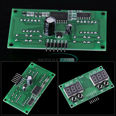 PWM Pulse Frequency 6Hz-100KHz Square Rectangle Wave Signal Generator TM1637