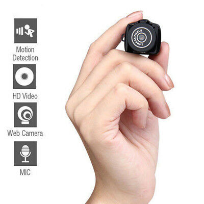 Smallest Camera Camcorder Mini Video Recorder DVR Hidden Pinhole Web SPY Cam U2