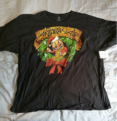 Anthrax - Xmas - Tshirt - 3XL - Black