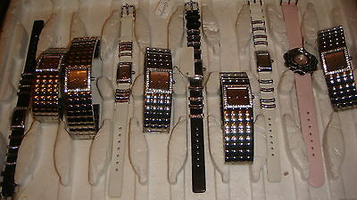 TRADE ONLY JOB LOT OF 10 X new MIXED  PAMELA ANDERSON WATCHES 100%. GEN<.