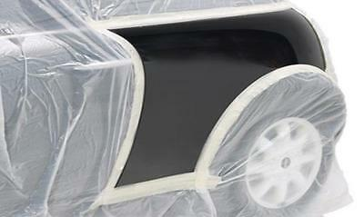 150 metre long Clear Static Masking Roll 4m x 150m poly sheeting car cover mask