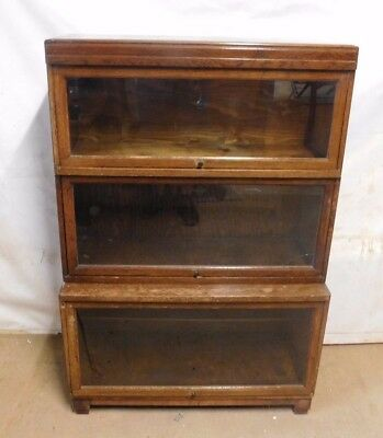 Antique Globe-Wernicke - 3 Section, 5 piece bookcase
