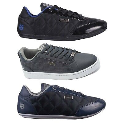 Mens Casual Trainers Henleys Designer Branded Lace Up Lo Top Sneakers Clearance!