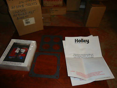 Mercury Marine Boat,holley Carburetor Rebuild Kit, Part#822386,