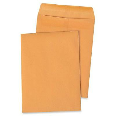 "Sparco Self-Seal Catalog Envelopes,Plain,28 lb.,9""x12"",100/BX,Kft 38526"