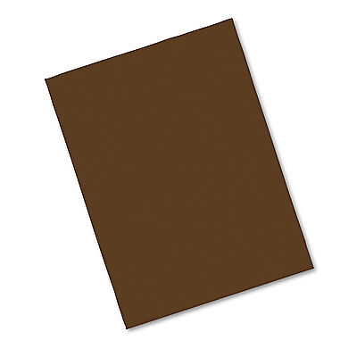 Pacon Riverside Construction Paper 76 lbs. 9 x 12 Dark Brown 50 Sheets/Pack