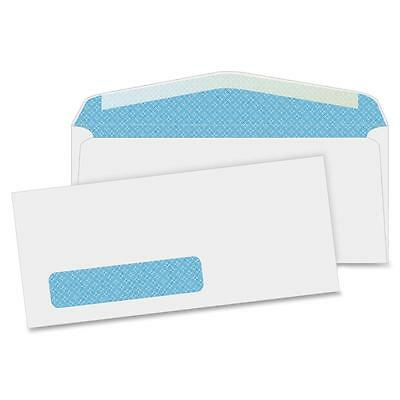 "Business Source Security Window Envelopes No. 10"" 4-1/8""x9-1/2"" 500/BX WE 42205"