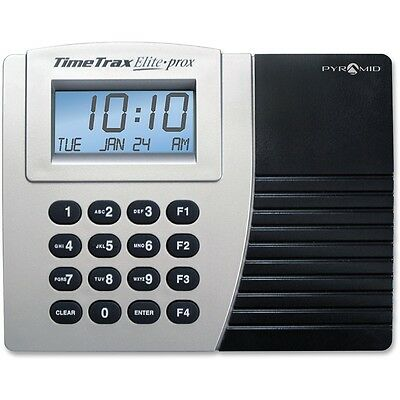 Pyramid Time Systems Time/Clock System Proximity w/15 Cards Keypad Gray/Black