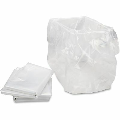 "Shredder Bag f/HSM Models 13""x10""x24"" 100BG/CT Clear 1310"