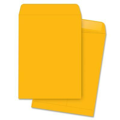 "Business Source Catalog Envelopes Plain 11-1/2""x14-1/2"" 250/BX Kraft 42116"