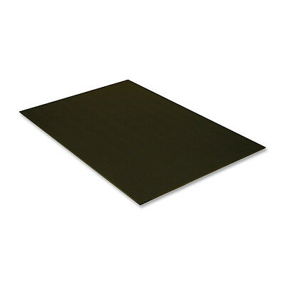 "Pacon Foam Board 20""x30"" 3/16"" Thick 10/PK Black On Black 5511"