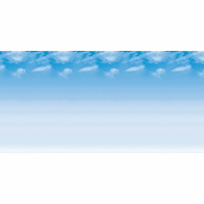 "Pacon Fadless Bulletin Board Paper 48""x50' 1RL Wispy Clouds 56935"
