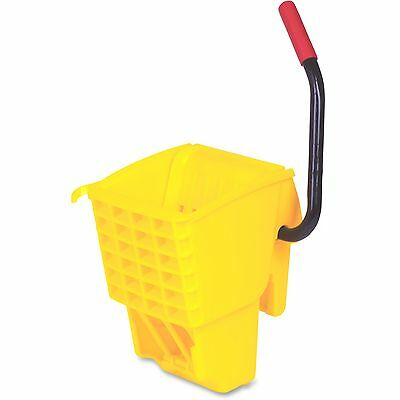 Rubbermaid Commercial WaveBrake Bckt Side Press Wringer 32oz Yellow 612788YW