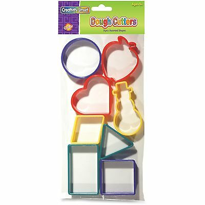 Creativity Street Dough Cutters Holiday Shapes 8pc Ast 9765