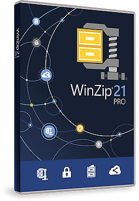 WinZip 21.0 - Pro Edition - Digital Download - SUPER FAST DELIVERY
