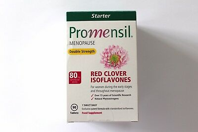 Promensil Menopause Double Strength Red Clover Isoflavones - 90 Capsules