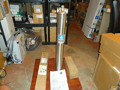 Shelco Filter, Canister Stainless Steel Model#fos-908, New, 250 Pressure Rating
