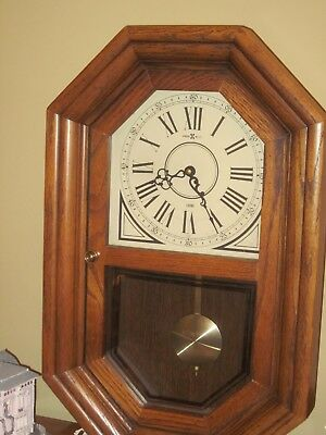 VINTAGE Howard Miller Chime w/ REAL 22k GOLD