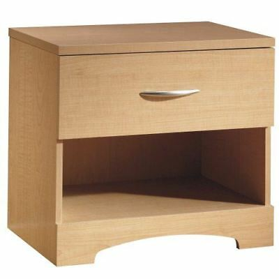 South Shore Furniture Step One Collection, Night Table, Natural Maple