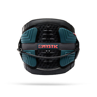 Mystic LEGEND Kitesurf Harness 2018 - Teal/Red