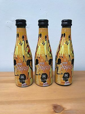 Funky Anna Spinato Mini Prosecco Bottles (20cl) - Hen Party - Set of 3