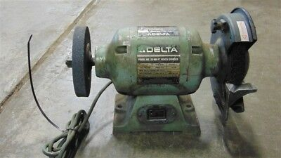 Superb Used Delta Model 23 880 8 Bench Grinder 120V 1 2 Hp 3500 Dailytribune Chair Design For Home Dailytribuneorg