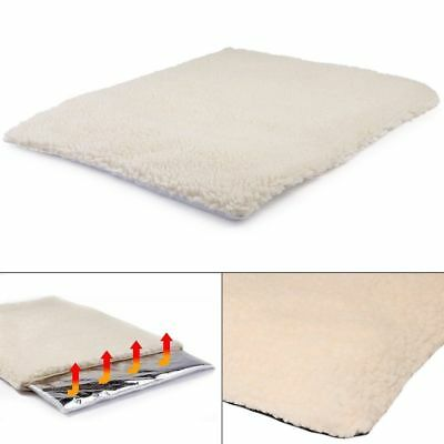 Pet Cat Dog Bed Self Heated Heating Thermal Cushion Mat Washable Super Warm Rug