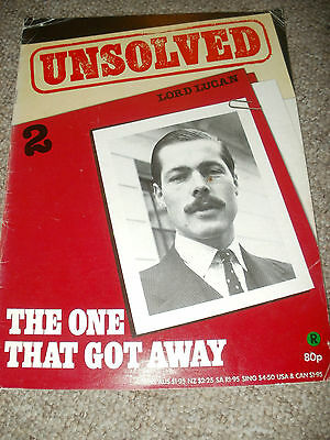 Unsolved  Issue 2  Lord Lucan