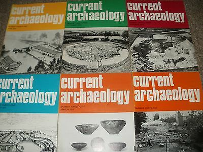 Current Archaeology Magazines Issues 21-25 & 45
