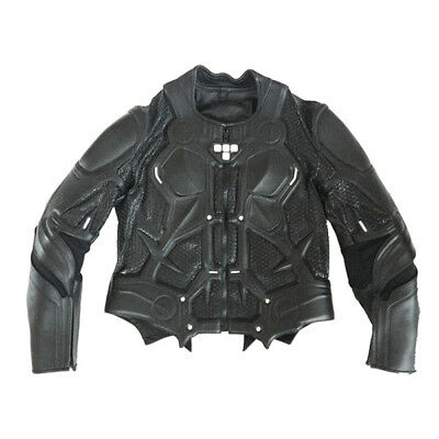 UD REPLICAS TRON Legacy White Reflectors Leather Motorcycle Jacket SZ MED NEW
