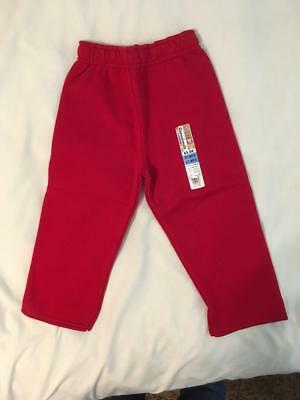 Fleece Pants Garanimals 3T Red Toddler Boy/girl (Combined Shipping)