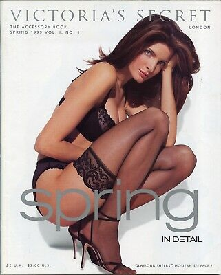 Victoria's Secret Holiday Spring Accessory 1999 Vintage Lingerie Catalog