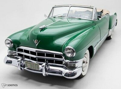 1949 Cadillac Series 62 Convertible Restored - Matching Numbers Motor - Power Convertible Top - Best of Show Winner