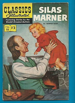 Classics Illustrated Comic Book # 55  Silas Marner   #797