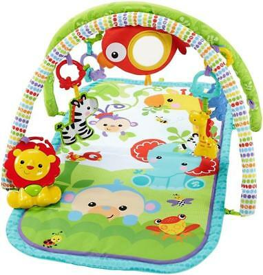 Mattel Fisher Price - Spieldecke mit Spielbogen, 3-in-1 - Rainforest-Friends