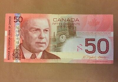 2004 Canadian $50 bill - fifty dollar note