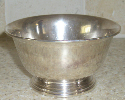 Antique Solid Sterling Silver Bowl