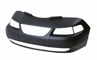 LeBra LeBra Custom Front End Cover - Front End And Hood Piece Black Leather G