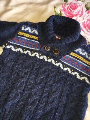 Boys Jumper 12-18 Months