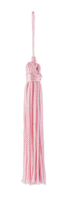 "Blush Pink 3"" Chainette Tassels Blushing Bride [Set of 10]"