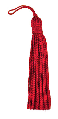 "Cherry Red 3"" Chainette Tassels [Set of 10]"